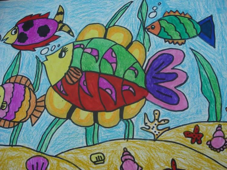 可爱的小鱼简笔画_可爱的小鱼图片欣赏