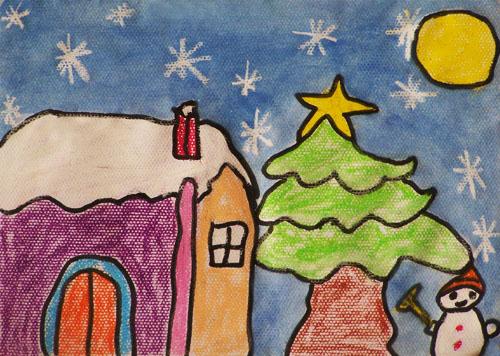 冬天的样子简笔画_冬天的样子图片欣赏