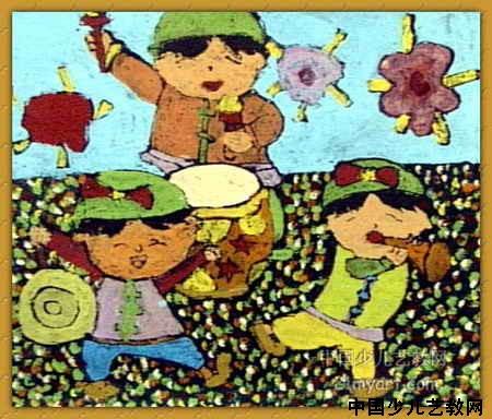 欢乐小孩简笔画_欢乐小孩图片欣赏