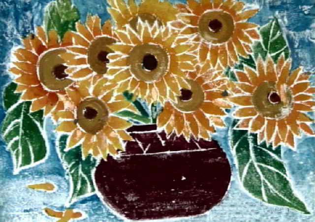 向日葵简笔画_向日葵图片欣赏_向日葵儿童画画作品-有