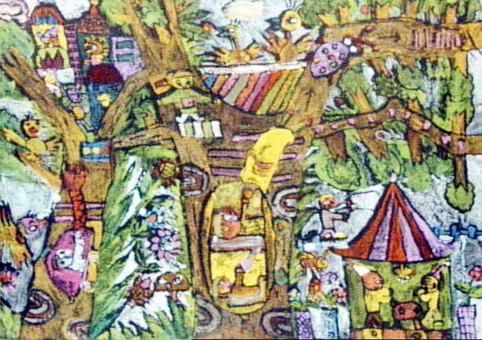 我想住的城市 简笔画 我想住的城市 图片欣赏 我想住的城市 儿童画画作