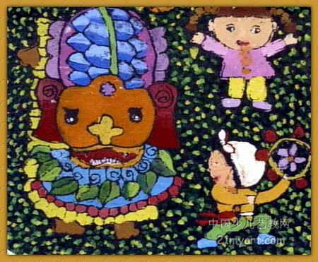 过大年 简笔画 过大年 图片欣赏 过大年 儿童画画作品