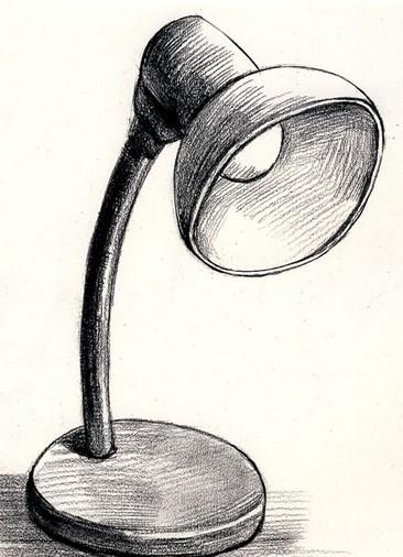 电灯简笔画 电灯图片欣赏 电灯儿童画画作品