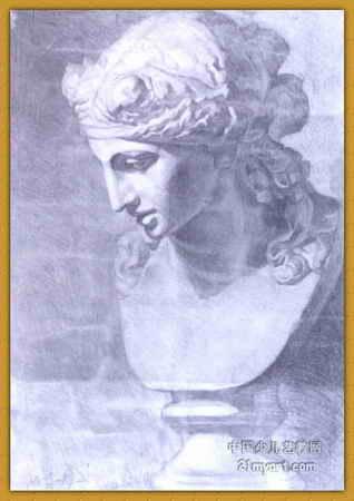 阿里亚斯侧面像 简笔画 阿里亚斯侧面像 图片欣赏 阿里亚斯侧面像 儿童画画作品
