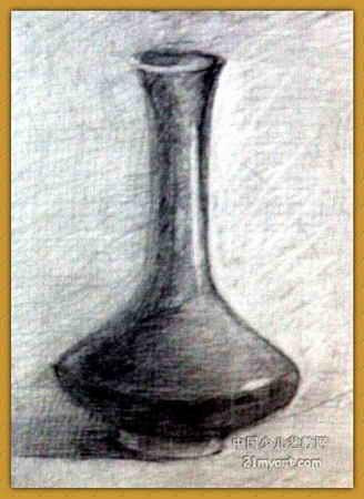 静物组合 简笔画 静物组合 图片欣赏 静物组合 儿童画画作品