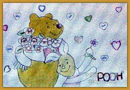 《爱心大使》简笔画_《爱心大使》图片欣赏