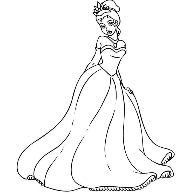 白雪公主简笔画 白雪公主图片欣赏 白雪公主儿童画画作品