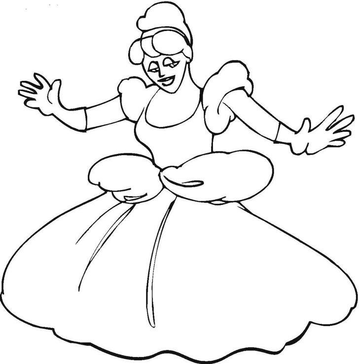 仙蒂公主简笔画_仙蒂公主图片欣赏
