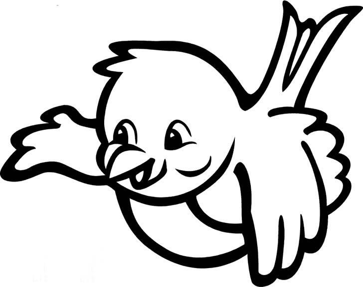 小鸟小鸟简笔画 小鸟小鸟图片欣赏 小鸟小鸟儿童画画作品