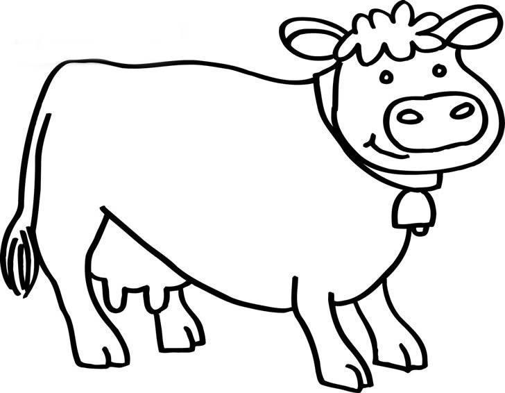 牛的简笔画 步骤