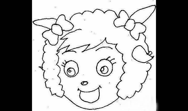 儿童绘画作品:美羊羊