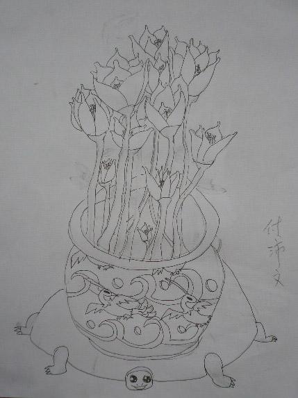 花瓶简笔画_花瓶图片欣赏