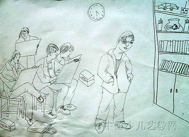 人物写生 简笔画 人物写生 图片欣赏 人物写生 儿童画画作品