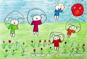 钓鱼 简笔画 钓鱼 图片欣赏 钓鱼 儿童画画作品