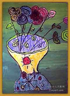 花瓶 简笔画 花瓶 图片 欣赏 花瓶 儿