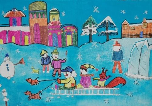 滑雪人物简笔画大全,56个民族人物简笔画,侧面奔跑人物简笔画