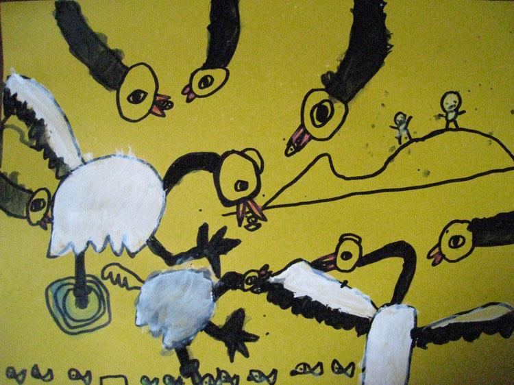 儿童天鹅简笔画大全 天鹅简笔画图片大全 唯美飞天鹅简笔画大全