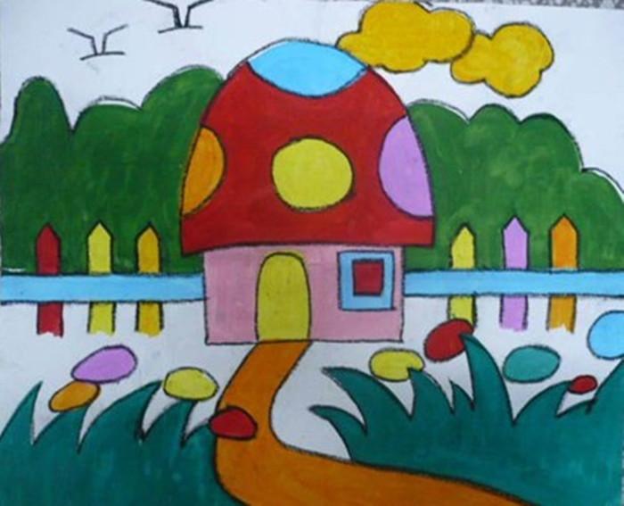 蘑菇小房子