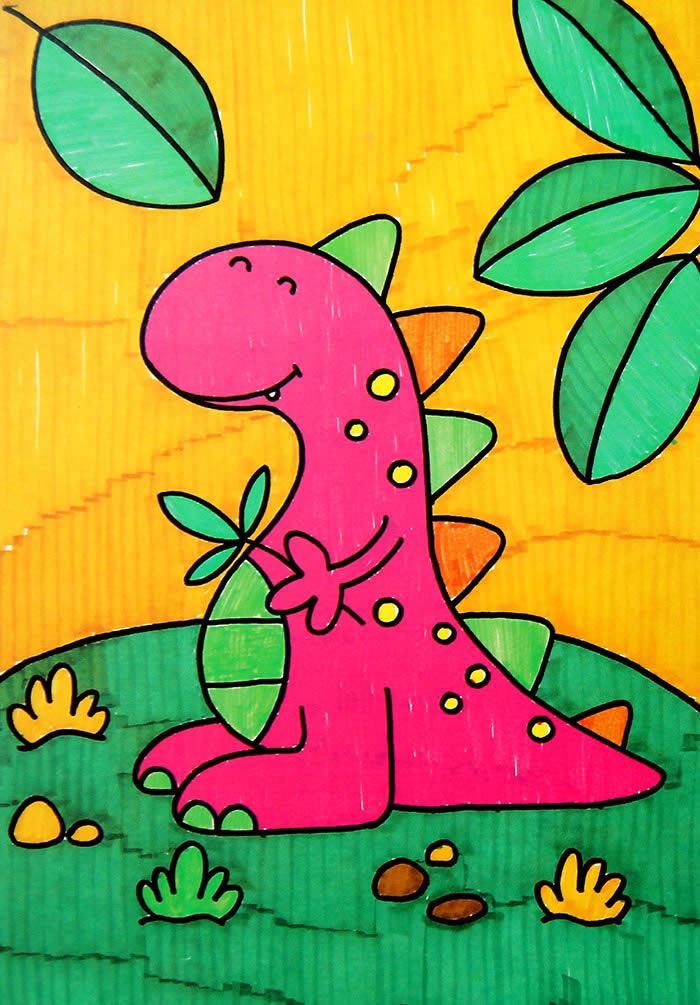 可爱的恐龙