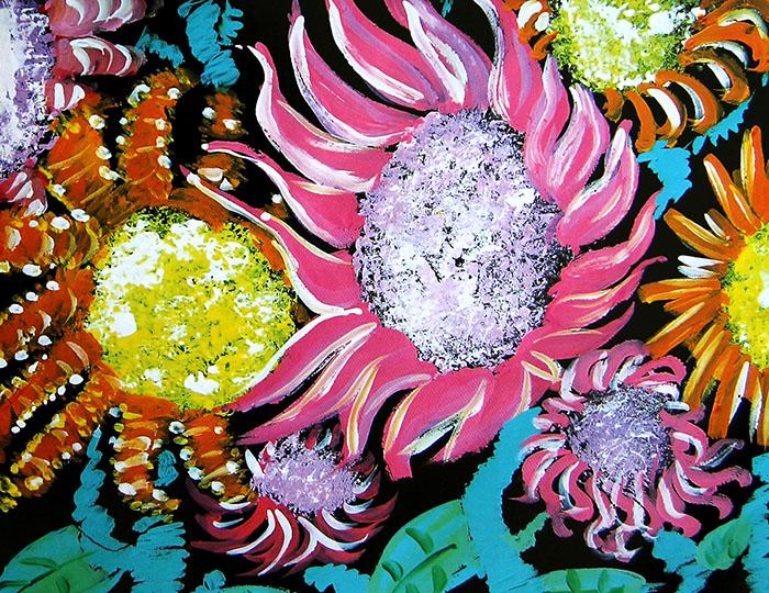 美丽的花瓣简笔画 美丽的花瓣图片欣赏