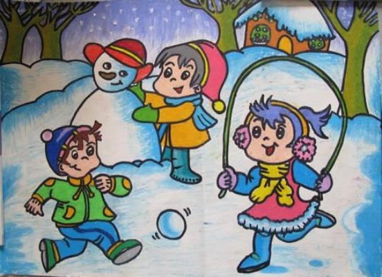 儿童水彩简笔画 儿童水彩图片欣赏 儿童水彩儿童画画作品