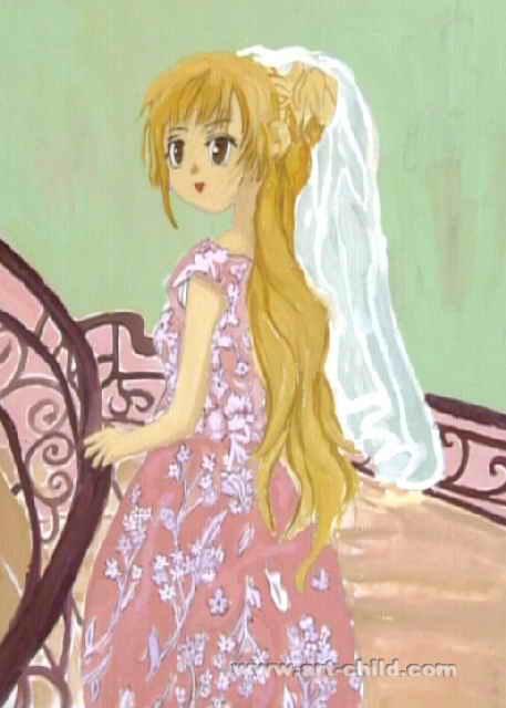 妹妹公主简笔画