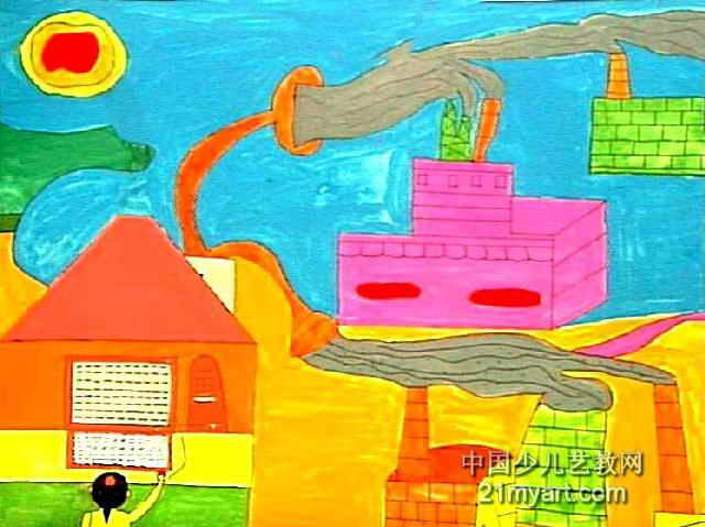 茄子简笔画_茄子图片欣赏_茄子儿童画画作品-有伴网