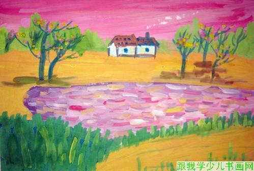 小屋子简笔画_小屋子图片欣赏_小屋子儿童画画作品-有