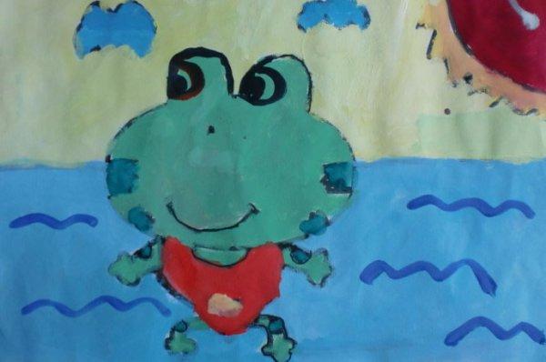 小青蛙简笔画_小青蛙图片欣赏