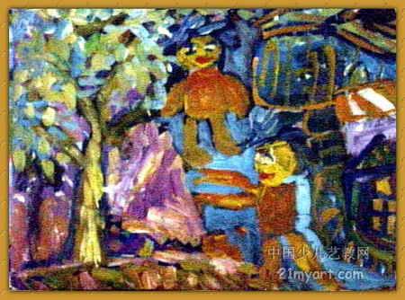 游泳的快乐 简笔画 游泳的快乐 图片欣赏 游泳的快乐 儿童画画作品