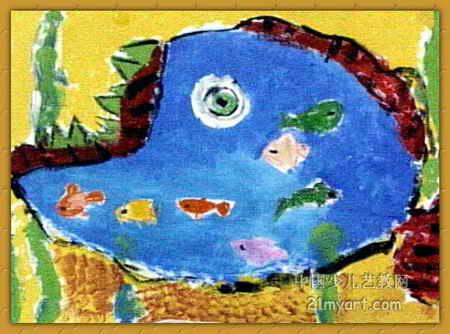 妈妈肚里游泳 简笔画 妈妈肚里游泳 图片欣赏 妈妈肚里游泳 儿童画画作品