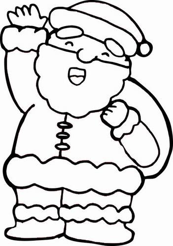 简笔画- 教你画慈祥的圣诞老人的简笔画教程