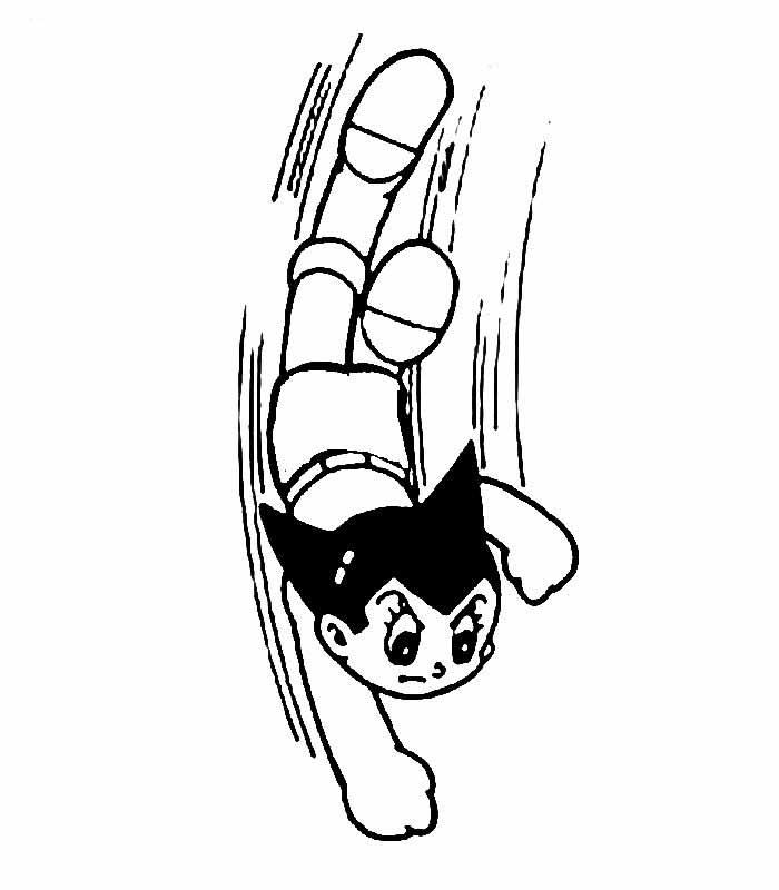 教你画飞跑的小男孩的简笔画教程简笔画
