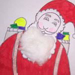 教你如何画圣诞老人的简笔画教程简笔画 教你如何画圣诞老人的简笔画