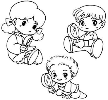 教你如何画小朋友的简笔画教程简笔画