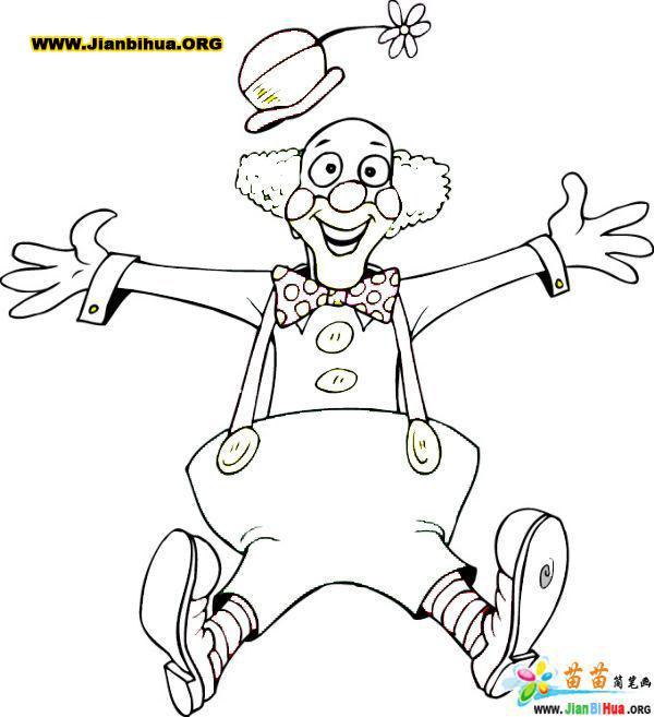 人物简笔画 搞笑的老爷爷简笔画 人物简笔画 搞笑的老爷爷图片欣赏