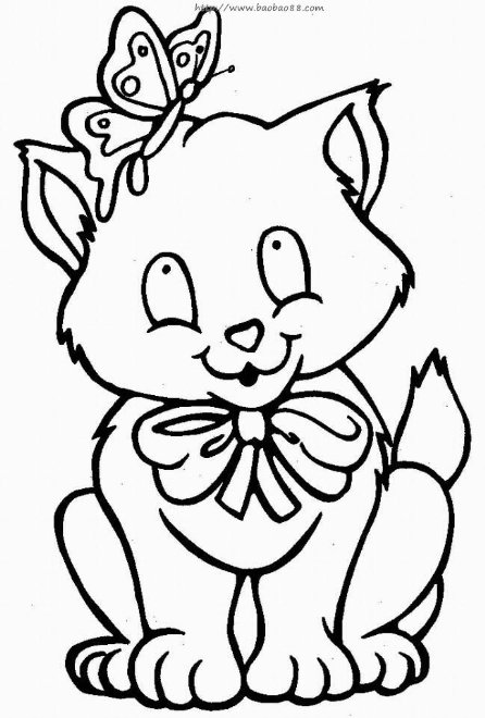 儿童画画 简笔画 可爱的小狗儿童画画