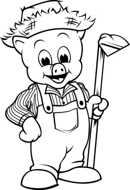 可爱的小猪简笔画_可爱的小猪图片欣赏