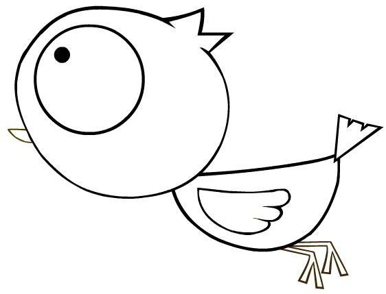 简笔画-可爱的小鸡