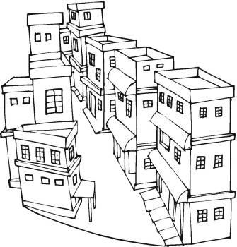 简笔画-房子