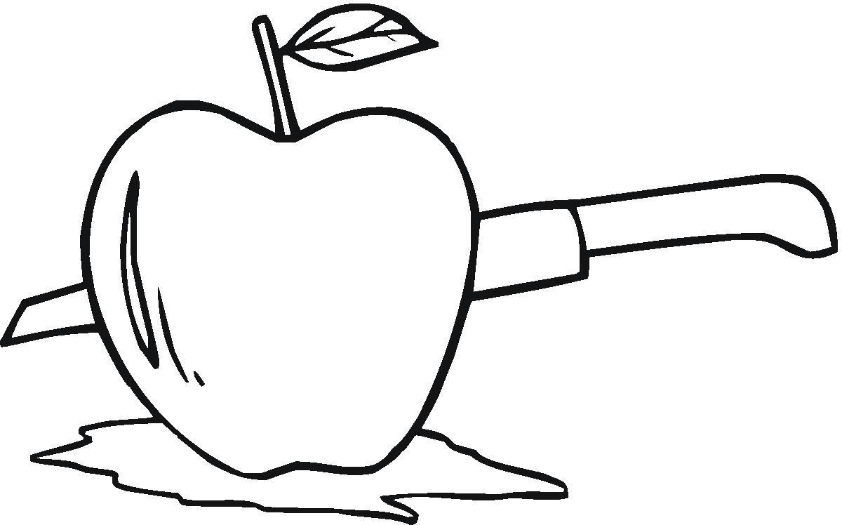 大苹果的简笔画