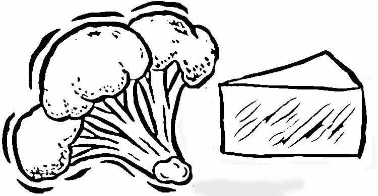 教你如何画西兰花的简笔画教程简笔画