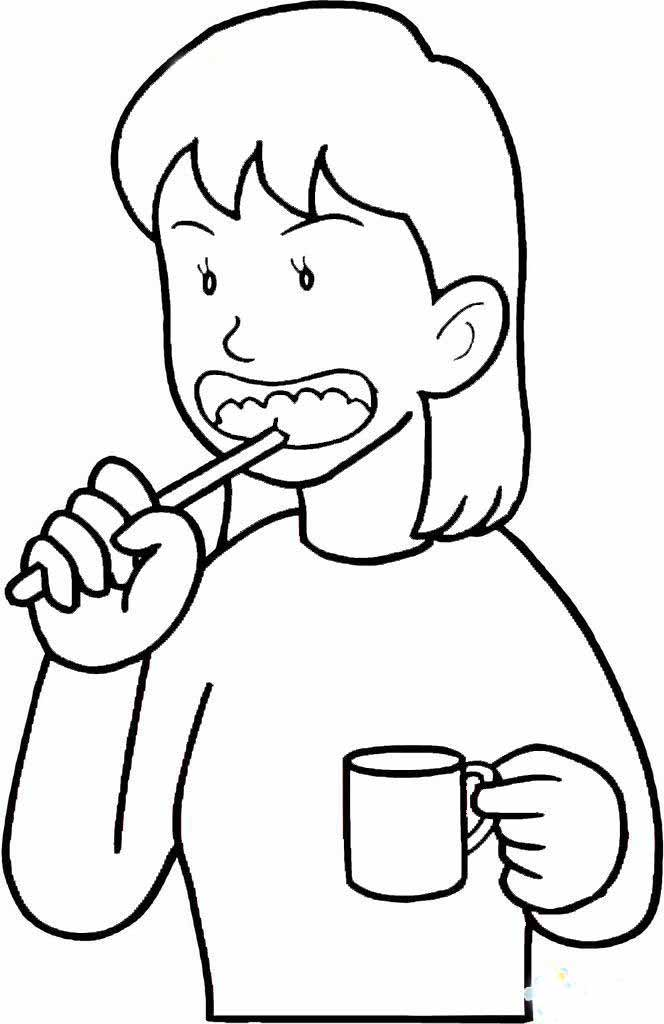 儿童画画 简笔画 教你如何画小朋友刷牙的简笔画教程儿童画画  上一张
