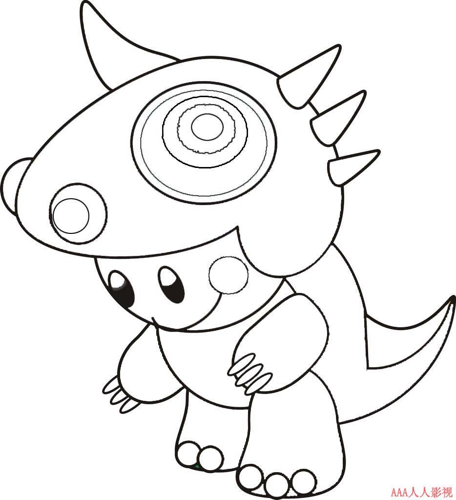 动漫卡通男孩简笔画 可爱的小男孩简笔画