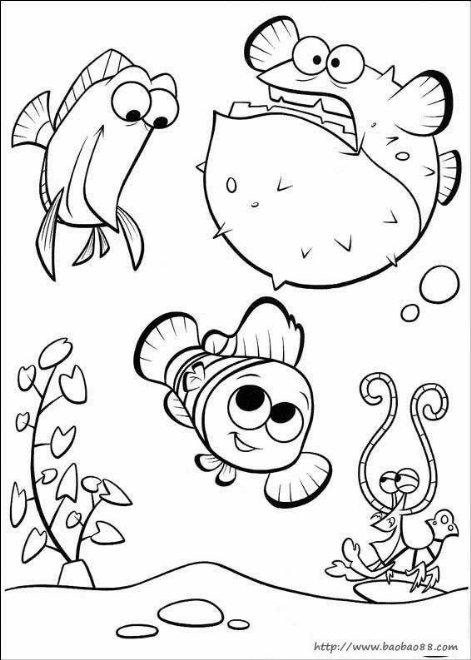 简笔画-可爱的小鱼