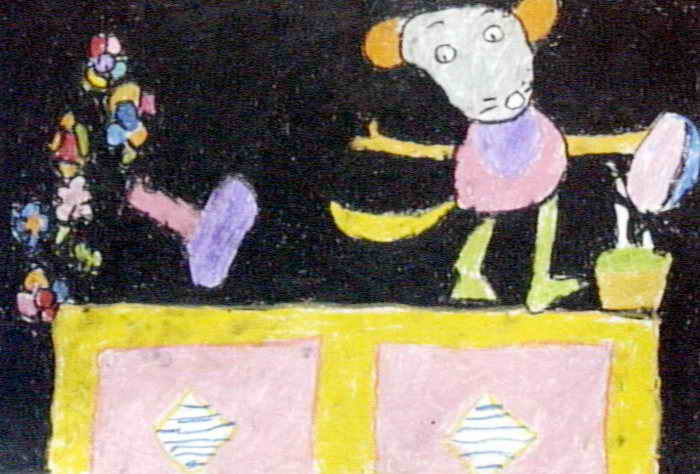 小老鼠简笔画_小老鼠图片欣赏