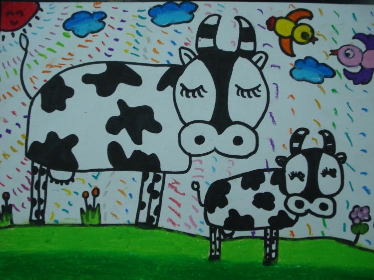 最简单画画的小孩子画的-儿童简画图片大全-妈妈和宝宝的简画图片 海绵宝宝图片 小宝宝图片