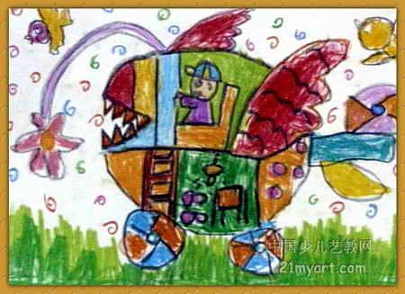 《梦想》简笔画_《梦想》图片欣赏_《梦想》儿童画画