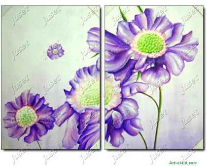 装饰花卉简笔画 装饰花卉图片欣赏 装饰花卉儿童画画作品