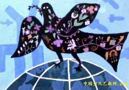 和平/【和平鸽简笔画】鸽子简笔画_和平鸽的画法_...